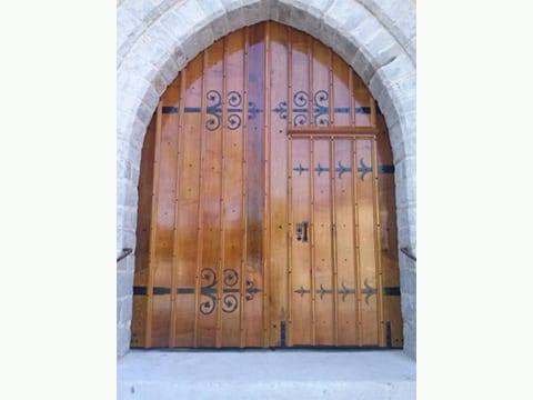Portail de l' église de verton 62